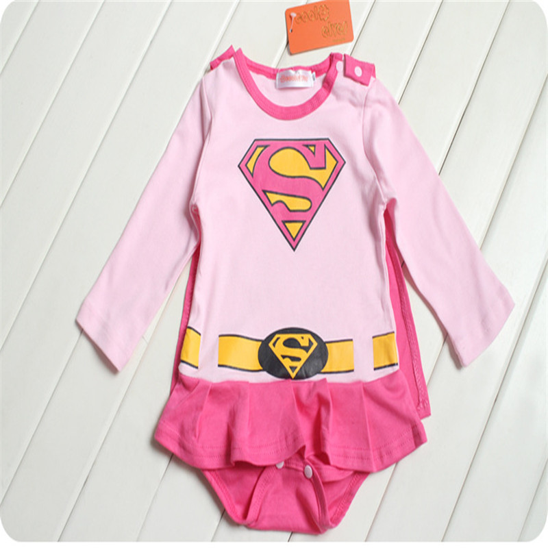 668047f06 2016 new children Halloween costumes suit Baby Superman Batman Long Sleeve  Smock Infant Romper Girl Boy Clothing Sets-in Clothing Sets from Mother &  Kids on ...
