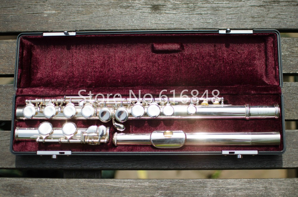 НОВЫЙ ЮПИТЕР JFL 511E II профессиональные посеребренные Мельхиор Флейта 16 отверстий закрыты музыкальный инструмент Flauta с случае