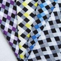 1 yard classico cotone stretch tessuto a maglia di cotone poliestere e spandex tessuto diy fashion apparel fare panno tissu tecidos