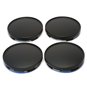 Image 4 - 4Pcs/lot 68mm Fit 65mm Logo Black Plastic Car Wheel Center Hubcaps Covers Set Car Wheel Rim Hub Caps Car Styling Accessories