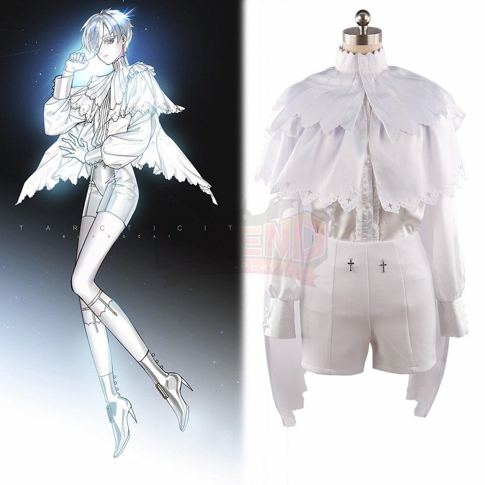 Anime Land of the Lustrous Houseki no Kuni Antarcticite Antarc cosplay Costume fanart costume custom made