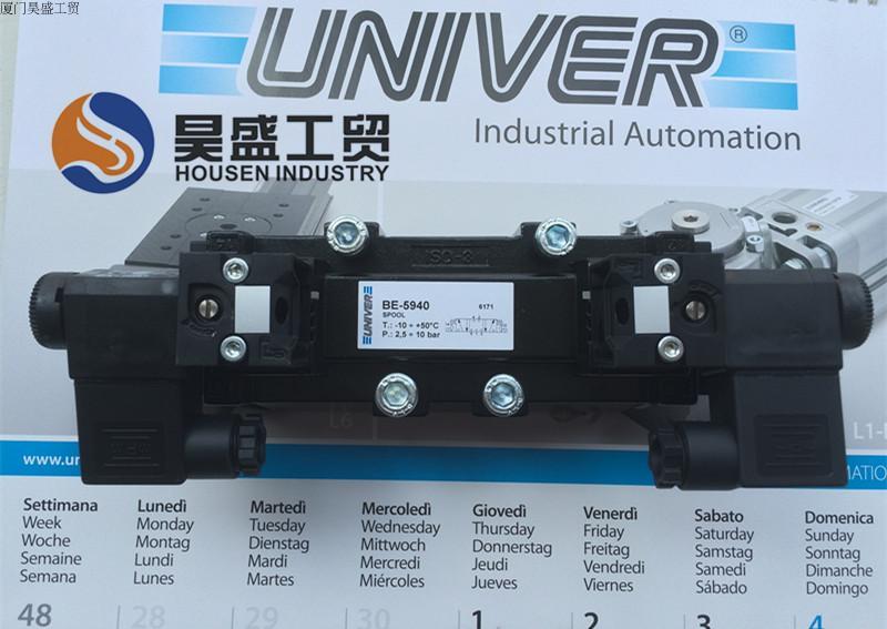 Italy UNIVER solenoid valve NO.BE-5940/DC24V new rotation solenoid valve kwe5k 31 g24ya50 for excavator sk200 6e