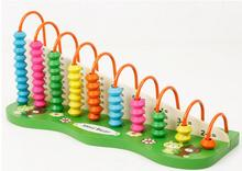 Puzzle wooden Toy 3D Child Min Calculation Frame Small Abacus Wood Toy Educational Toys Math Multiplication Table A01X16