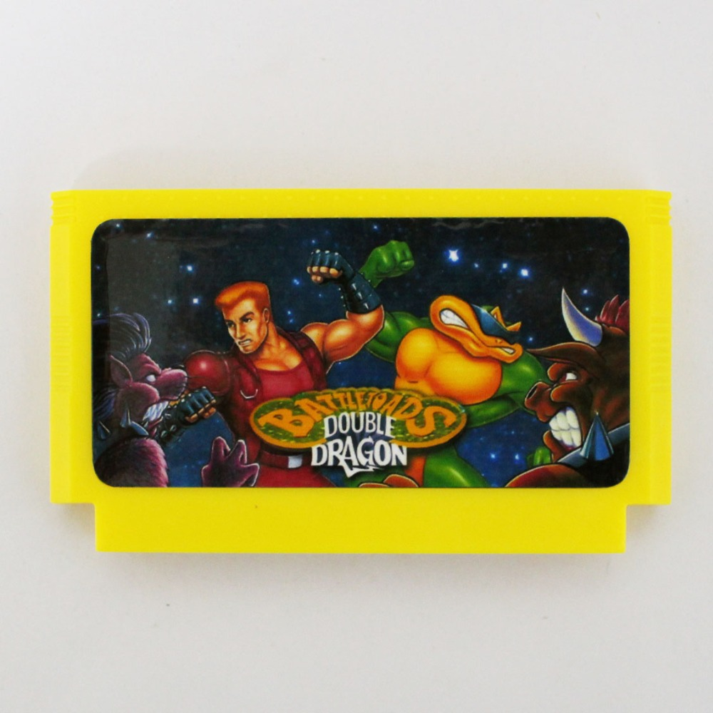 Battletoads And Double Gragon 60 Pin Game Card For 8 Bit Subor Game Player