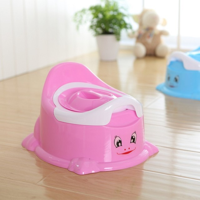 New Style Smile Toilets Kids Potty Chair Portable Infant Baby Toilet Potty Training Chair Seat Splash Guard