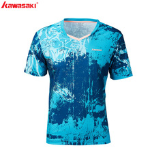 KAWASAKI Outdoor Sports T-Shirt For Mail  Quick Dry Short Sleeve Running Badminton Table Tennis Men T Shirt ST-S1120