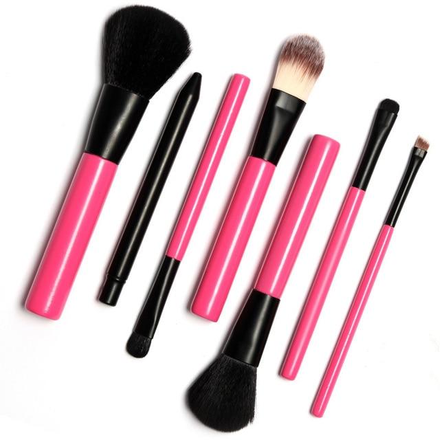7Pcs MakeUp Brushes Set Powder Foundation Eyeshadow Eyeliner Lip Brush Pro Makeup for Mac Makeup Sosmetic Tool