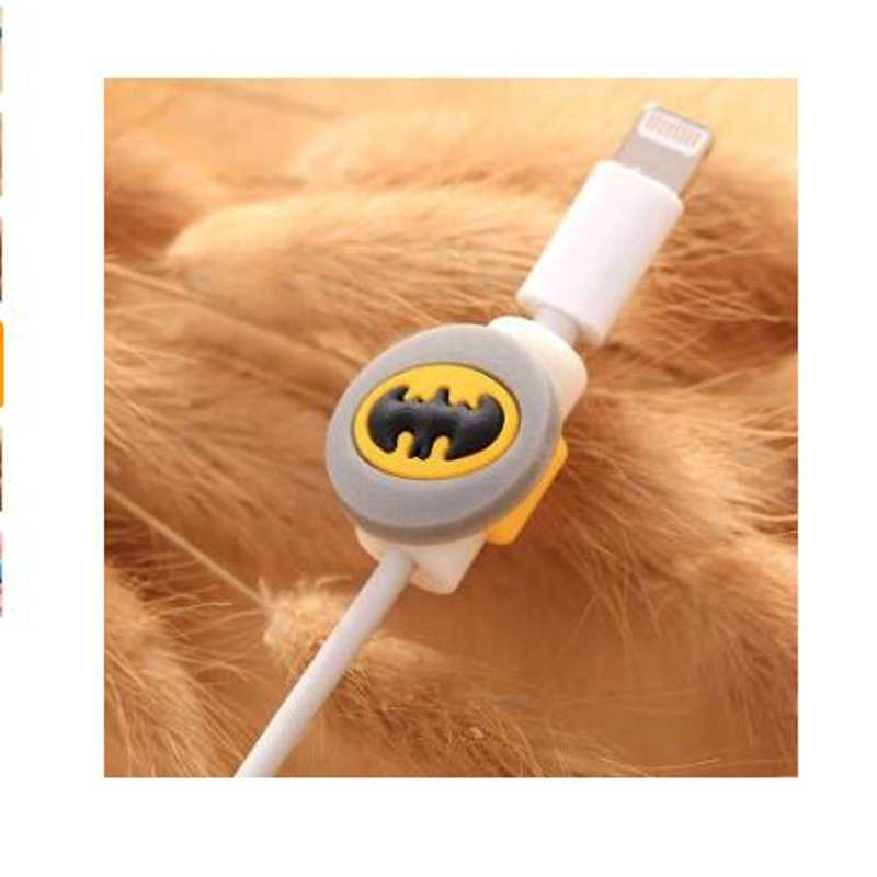 Dehyaton dos desenhos animados cabo organizador bobina winder protetor cabo de fio gestão titular capa para fone de ouvido iphone sansung mp3 usb