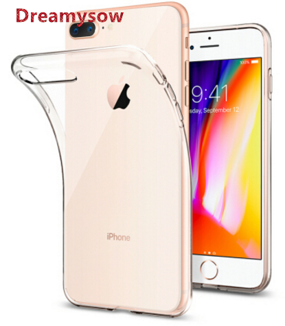 0.3MM Ultra Thin TPU Silicone Case For iPhone 7 Clear Crystal Soft TPU Case For iPhone 7 7 Plus 6 6S Plus 5S SE 5C 4S
