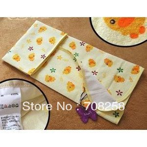 60x70cm, Cute 100%cotton baby changing mat,baby diaper mat,baby urinal pad,waterproof pad/mat retail, 347#