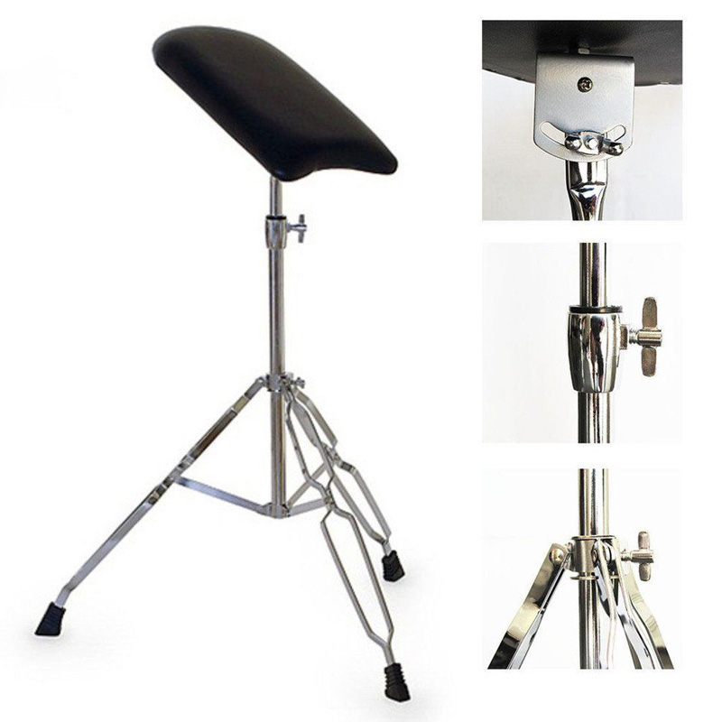 Professional Steel Tattoo Arm Leg Hand Shelf Bracket Rest Stand Portable Adjustable Chair Tripod Holder For Tattooing Body Art цена 2016