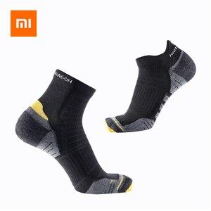Image 1 - 3คู่Xiaomi Quick Drying Light Cushioningกีฬาถุงเท้าผู้ชายผู้หญิงเรือถุงเท้าฤดูใบไม้ผลิฤดูร้อนฤดูใบไม้ร่วงสั้นข้อเท้าถุงเท้า