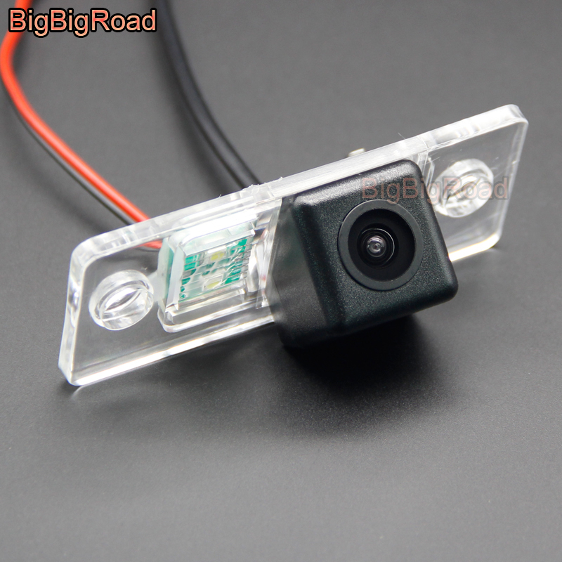 BigBigRoad For Audi A3  S3 8L  A4 S4 RS4  B5 8D  1994 2003 Car Rear View Camera   HD CCD Night Vision   Reversing Back up Camera