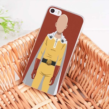 MaiYaCa One Punch Man Characters soft tpu phone case cover for Apple iPhone 8 7 6 6S Plus X 5 5S SE 5C 4 4S case funda 1