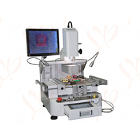 Russia No Tax HD Touch Screen LY R890 Semi Automatic BGA Reballing Machine With CCD Alignment