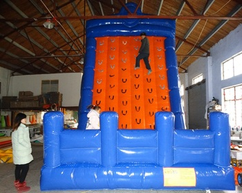 Gorąca sprzedaż nadmuchiwane gry sportowe nadmuchiwana wspinaczka tanie i dobre opinie XZ-CW-002 Dziecko Hot sale inflatable sport games inflatble climbing 0 5mmPVC L6*W4*H6m 110-220v Large Outdoor Inflatable Recreation