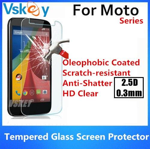 bilder für 20 stücke 2.5D 0,3mm Gehärtetem Glas Für Motorola Moto G4 Spielen G4 Plus Z Spielen G5 Plus Anti-Shatter Displayschutzfolie