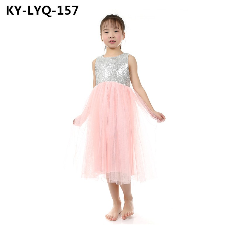 2fa11ed3 1 Piece Retail Cream Tulle Flower Girl Dress Gold Sequin Dresses Ivory Tutu  Wedding Gold Glitter Dress Boutique clothing