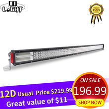 CO LIGHT 924W Led Bar 52 inch Curved 12D 4-Rows LED Work Light Bar Combo Offroad LED Light Bar for 4WD 4x4 Truck Tractor ATV SUV