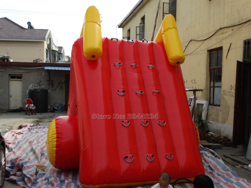 2017 factory customized good quality PVC inflatable pool slide for kids inflatable water slide pool
