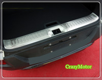 Rear Bumper Protector Step Panel Boot Cover Sill Plate Trunk Trim Accessories For Renault Kadjar 2015