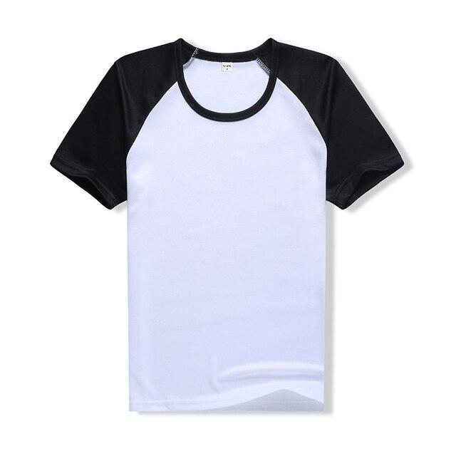 2018 Summer Casual Raglan À Manches Courtes t-shirt Blanc Noir Rouge Bleu  Couleur T 9e45101379ea