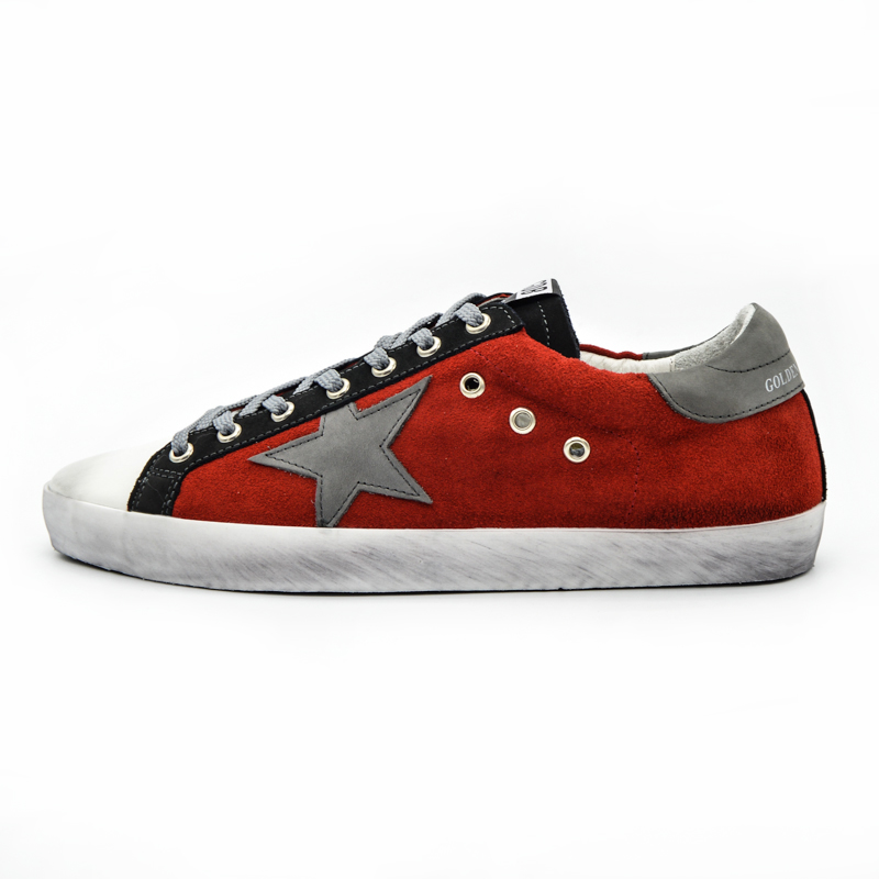 Italy Brand Trainers Men Women Casual Shoes Red White Shoes Woman Genuine Leather Scarpe Da Donna Uomo Original 2016 Chaussures hogan scarpe uomo