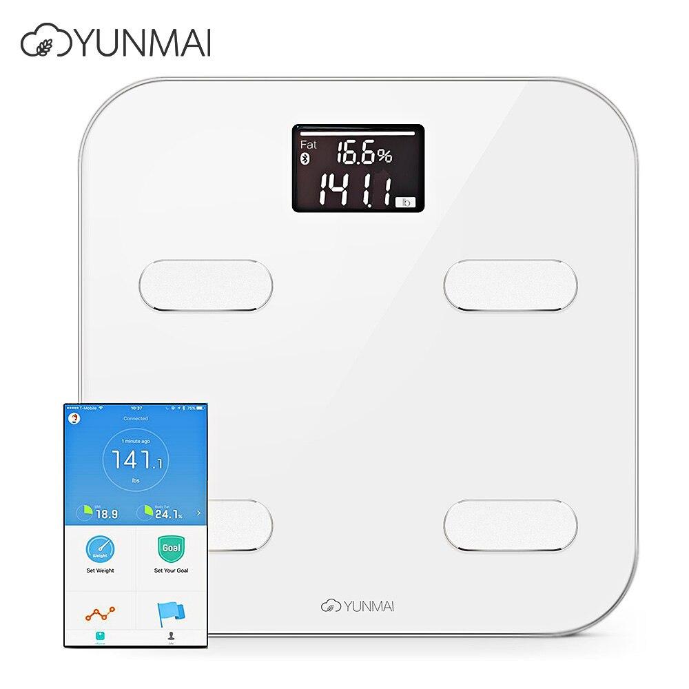Ausdauernd 100% Original Yunmai Farbe Smart Prämie Gesundheit Skala Unterstützung Bluetooth App Digitale Fettanteil Körperfettwaage