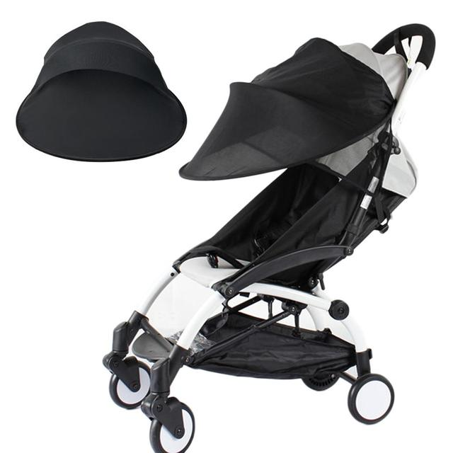 Windproof Baby Anti-UV Cloth sunshade Stroller Cover Sun Protection Awning Shelter Canopy Net Accessories