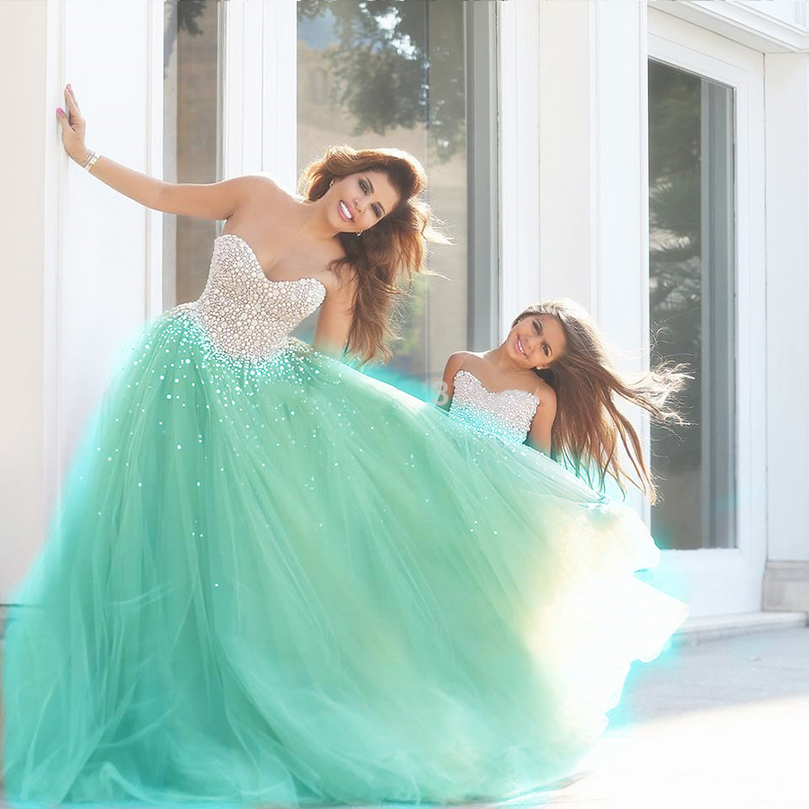 Stunning Seafoam Green Gown Gallery - Wedding and flowers ispiration ...
