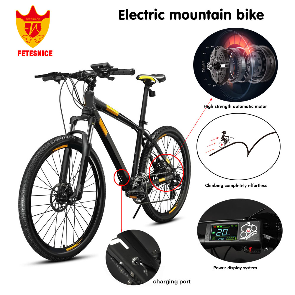 2017 FETESNICE duty free Electric bike 36V 240W ebike 26inch Ebike сколько алкоголя можно в duty free