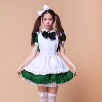 Free Shipping Hot Sale Maid Cosplay Anime Cosplay for Girls Adult Lolita Dress Restaurant uniforms Halloween Costume