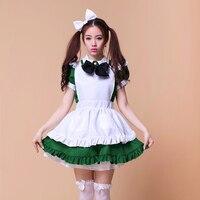 Gratis verzending hot koop meid cosplay anime cosplay voor meisjes volwassen lolita dress restaurant uniformen halloween kostuum