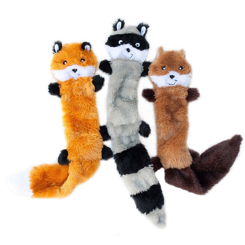 Cute Pet Dog Toys Chew Squeaker Animals Pet Toys Plush Puppy Honking Squirrel For Dogs Cat Chew Squeak Toy Dog Supplies