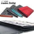AMK carpeta de Nuevo para la novia Para TAKATA carreras JDM monedero Unisex teléfono Móvil billetera novia telas En El Interior de cuero de LA PU 4 modelos