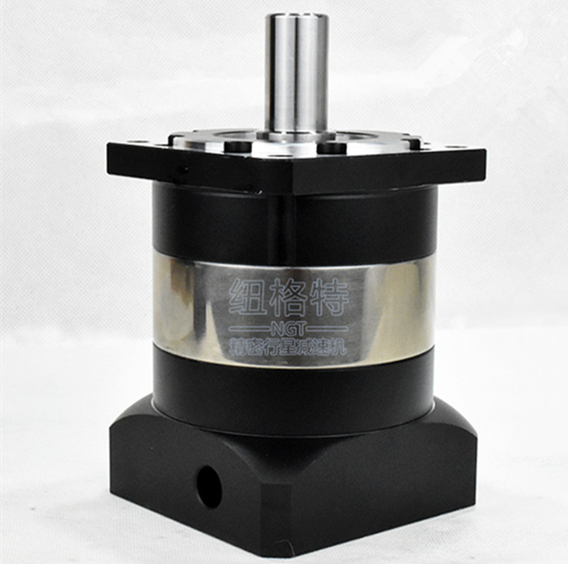 PLF120 130mm planetary gear reducer ratio 12:1 to 100:1 for 130mm AC servo motor shaft diameter 24mm 25 1 gear ratio planetary servo motor reducer nema24