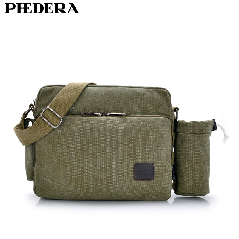 High Quality Wash Canvas Men Messenger Bags Casual Bolsa Masculina Men's Crossbody Bag Men Travel Shoulder Bags MJH1092