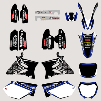 Motorcycle TEAM GRAPHICS DECALS STICKERS Kits for Yamaha YZ125 YZ250 YZ 125 250 2002 03 04 05 06 07 08 09 10 11 2012 2013 2014