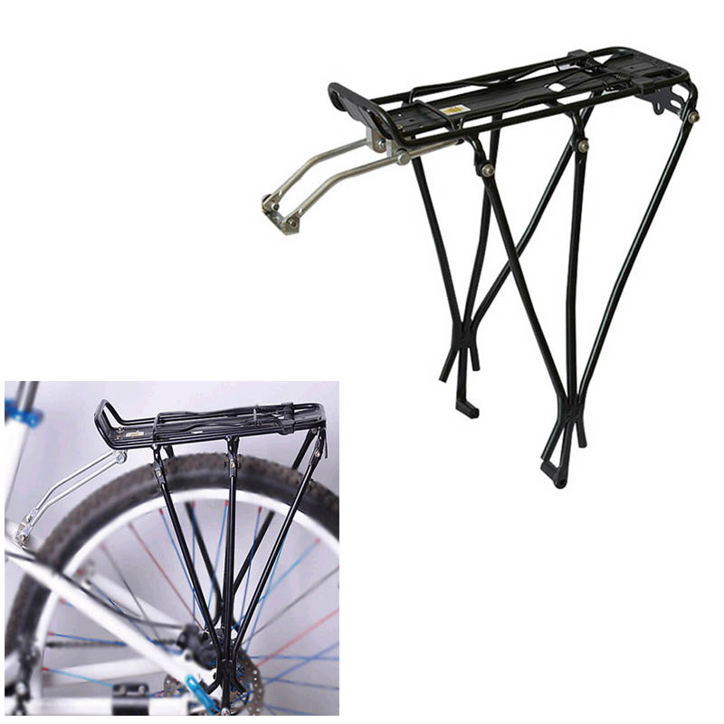 High Bike Bicycle Rack Rear Seat Luggage Carrier Frame Mounted Pannier For Disc Brake Mount DOG88|Bicycle Frame| |  - title=