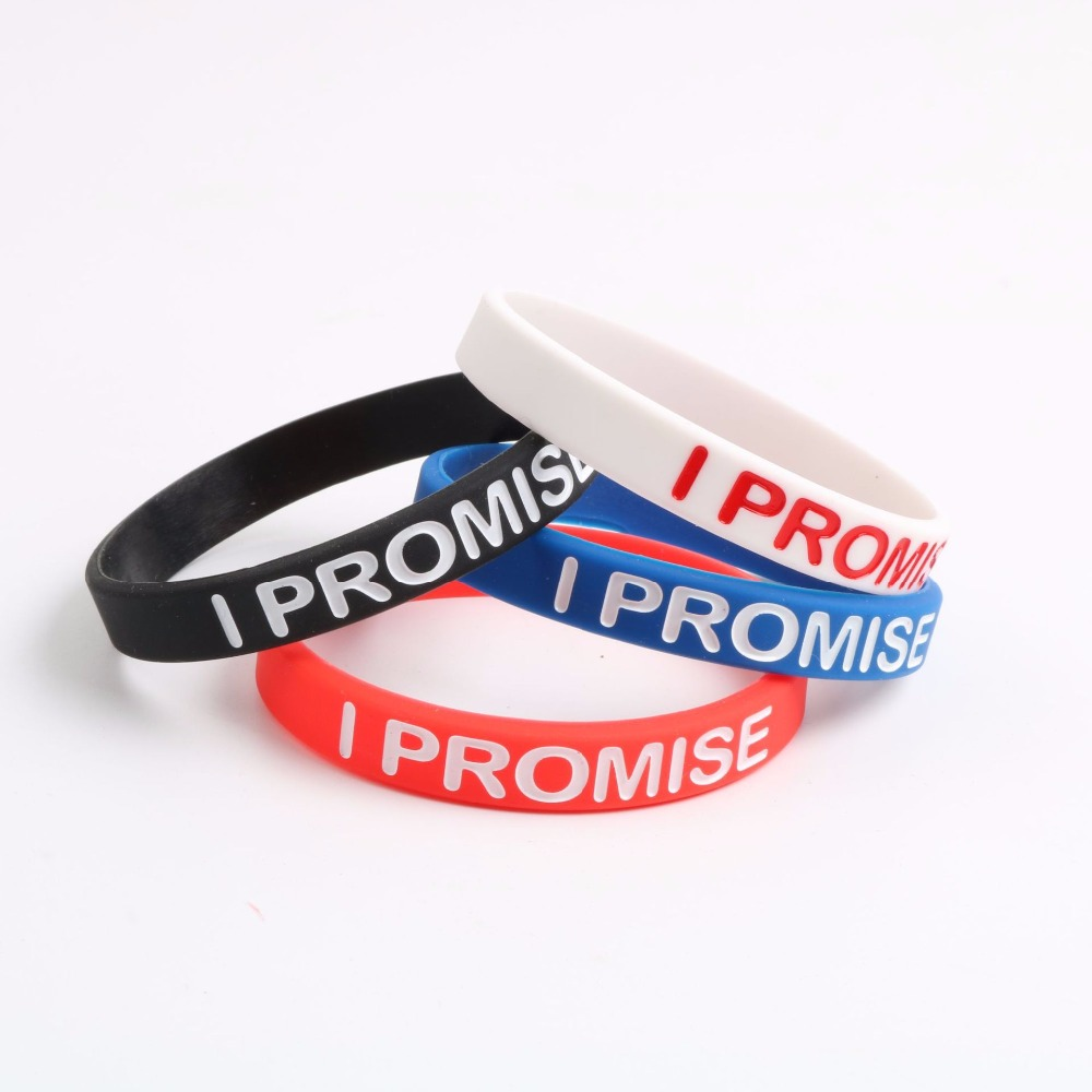 release date d6335 376a4 I PROMISE Bracelet Silicone LeBron James Basketball Wristband 4 Colors for  Choose Men s Pulseira-in Charm Bracelets from Jewelry   Accessories on ...