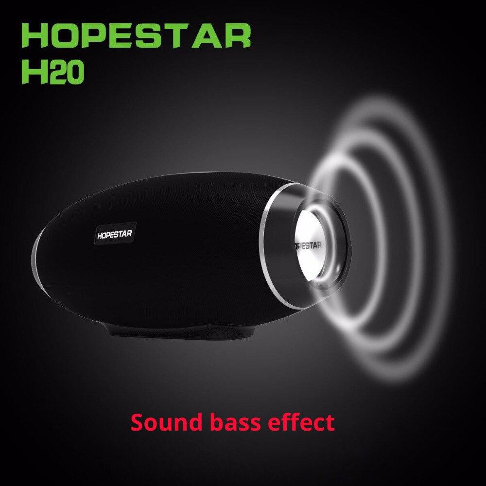 Image 3 - Hopestar Rugby Bluetooth haut parleur étanche basse colonne sans fil Portable TV ordinateur boîte de son extérieure boombox stéréo SubwooferEn plein air Haut-parleurs   -
