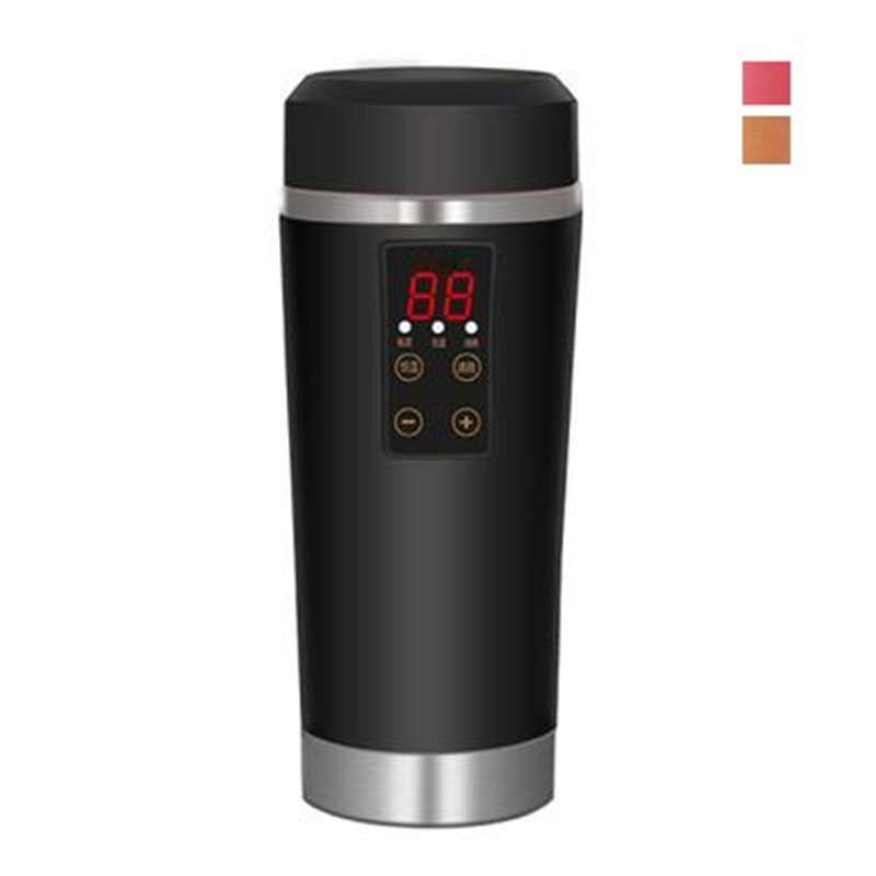 Dmwd Portable Electric Heating Cup Car Electric Kettle