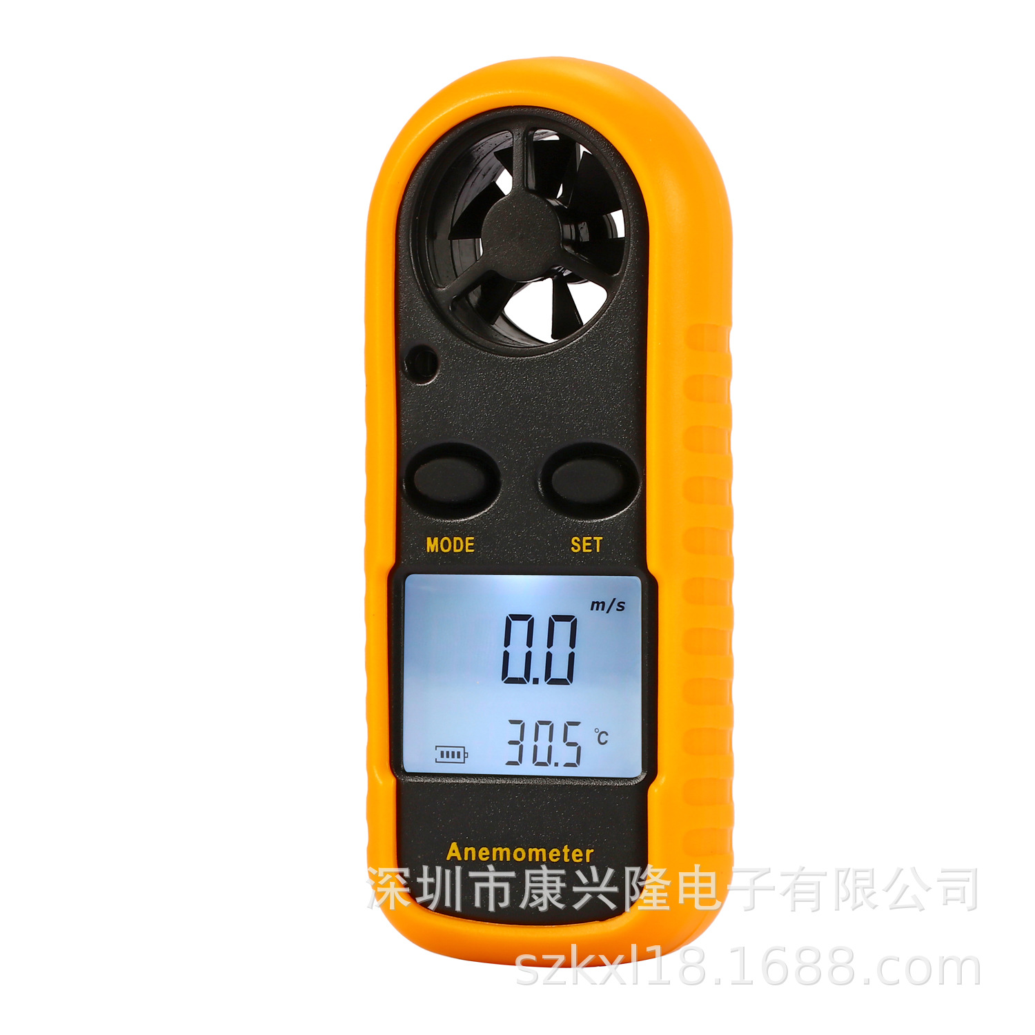 Mini Digital Wind Speed Meter Anemometer Thermometer Temperature Measuring