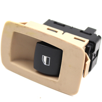 61316945876 61316945874 Beige Or Black Passenger Front Window Lifter Button Switch For BMW E90 E91 X5
