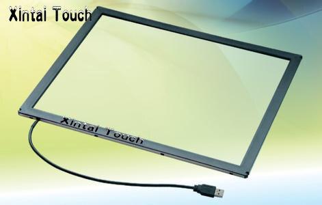 Vente chaude! Xintai tactile 32 pouces USB IR Multi écran tactile superposition; 10 points infrarouge multi écran tactile cadre pour TV LED