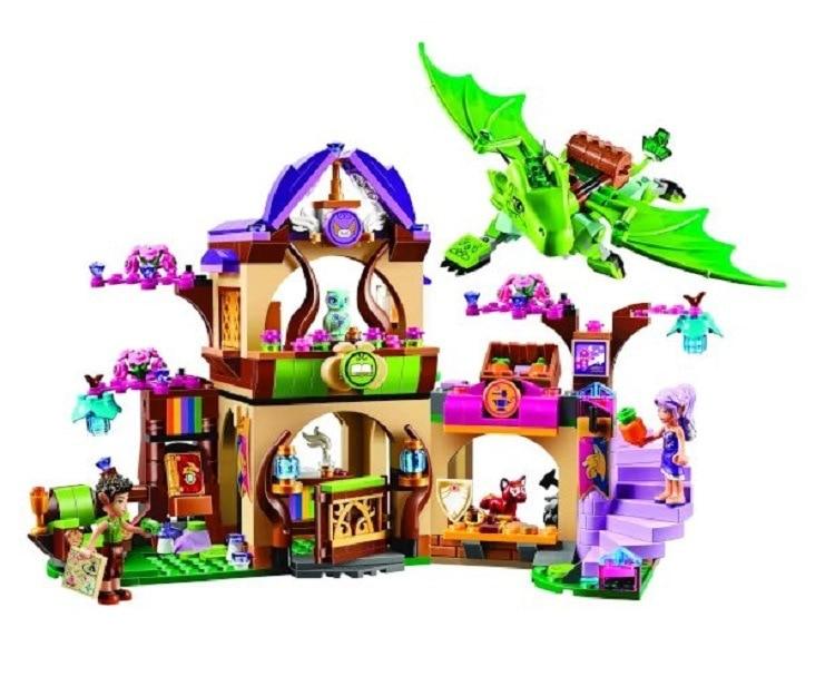 10504 694Pcs Friend Elves The Secret Market Place Model Building Kit Blocks Girl Toys For Children 41176 бриджстоун дуэлер 694 в екатеринбурге