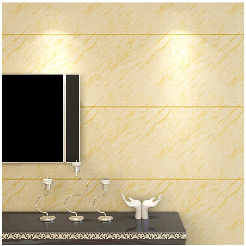 Moderne imitation marbre carrelage papier peint Simple 3D chambre salon TV fond PVC mur papier étanche mur autocollant