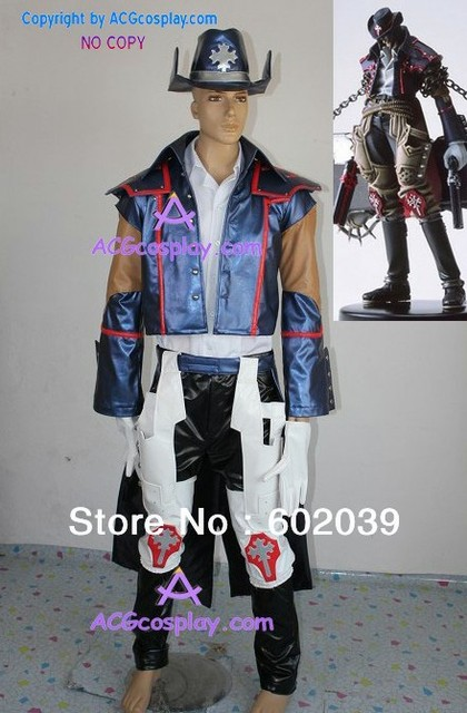 gungrave brandon heat cosplay costume good quality