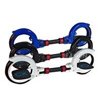 CX8 Скейт цикл два колеса скейтборд складной CX SkateCycle 2 Запчасти роликовые колеса Drift скейтборд для фристайла Экстрим