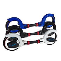 CX8 Skate cycle Two Wheels Skateboard Foldable CX SkateCycle 2 Parts Roller Wheel Drift Skateboard stunt scooter Extreme Sport